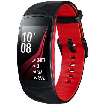 مچ بند هوشمند سامسونگ مدل  Gear Fit 2 Pro Red سایز mm  125-165