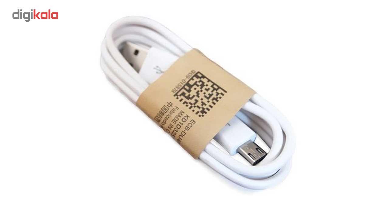 کابل شارژر موبایل تبدیل USB به microUSB طول 90سانتی متر  USB to microUSB Charger Cable 90cm