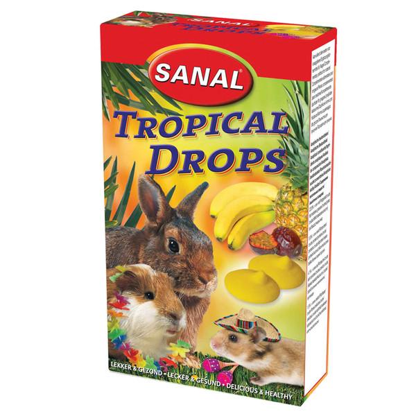 مکمل مولتی ویتامین سانال با طعم میوه های گرمسیری مخصوص جوندگان 45 گرمی