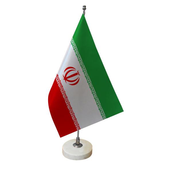 پرچم رومیزی طرح ایران کد 1304