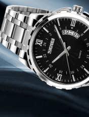 ساعت مچی عقربه ای مردانه اسکمی مدل 9069 -  - 2