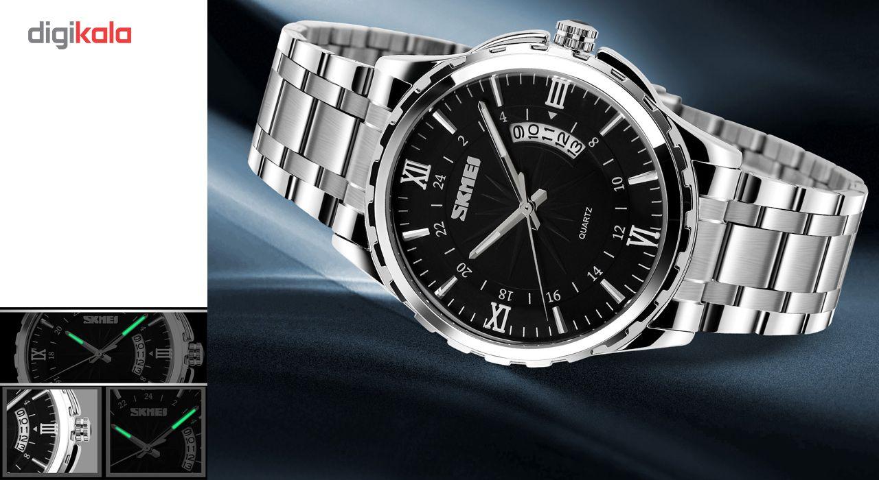 ساعت مچی عقربه ای مردانه اسکمی مدل 9069 -  - 3