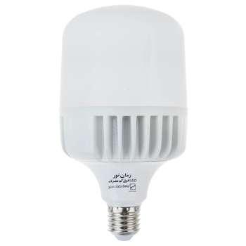 لامپ ال ای دی 30 وات زمان نور مدل Cylindrical پایه E27