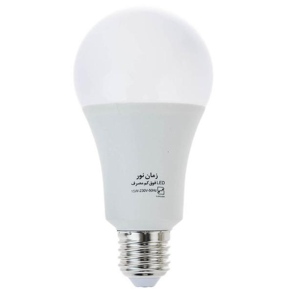 لامپ ال ای دی 15 وات زمان نور مدل Ultra-Low پایه E27