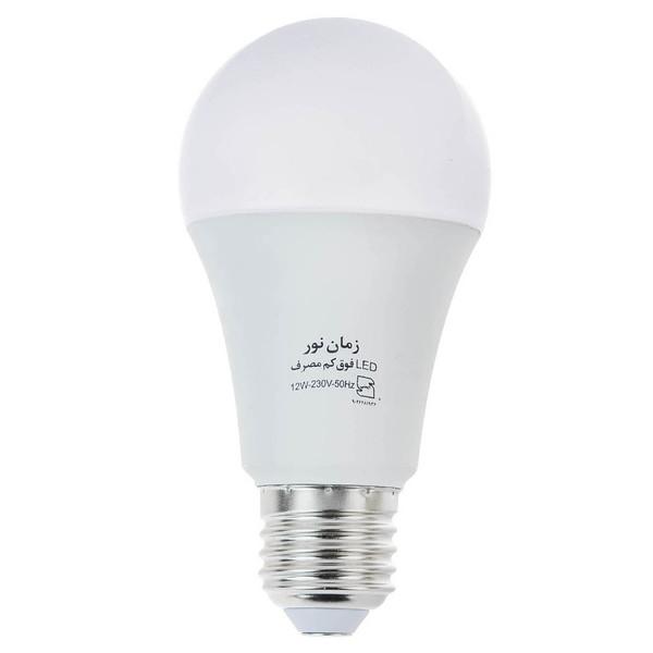 لامپ ال ای دی 12 وات زمان نور مدل Ultra-Low پایه E27