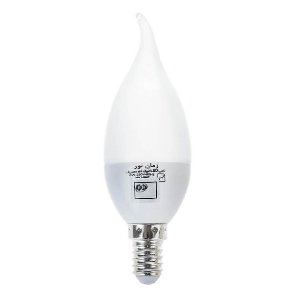 لامپ ال ای دی 6 وات زمان نور مدل Ultra-Low پایه E14