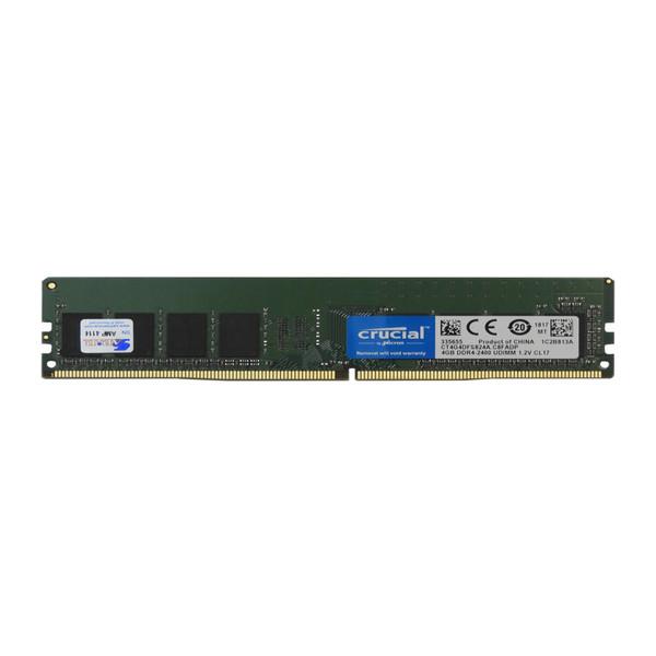 رم دسکتاپ DDR4 تک کاناله 2400 مگاهرتز کروشیال مدل CL17 ظرفیت 4 گیگابایت