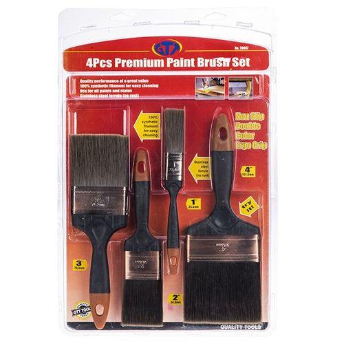 مجموعه قلم موی نقاشی جی تی تی مدل 20057 ست 4 عددی