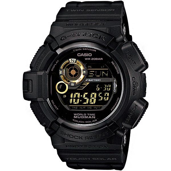 ساعت مچی دیجیتالی کاسیو سری جی شاک مدل G-9300GB-1DR مناسب برای آقایان 22
