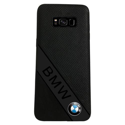 کاور چرمی مدل BMW مناسب برای گوشی موبایل سامسونگ S8