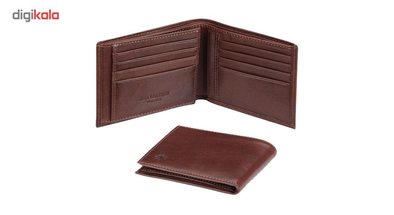 کیف پول مردانه چرم دیبا کد P9 main 1 2