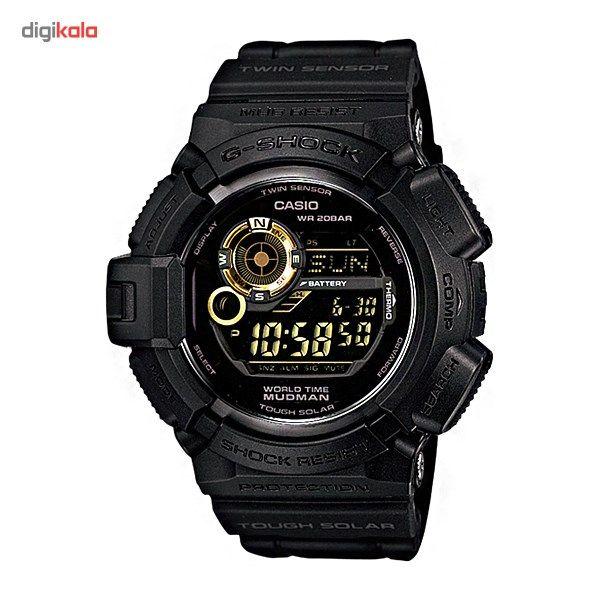 ساعت مچی دیجیتالی کاسیو سری جی شاک مدل G-9300GB-1DR مناسب برای آقایان -  - 2