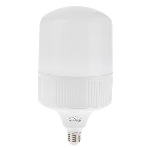 لامپ ال ای دی 50 وات زمان نور مدل Cylindrical پایه E27
