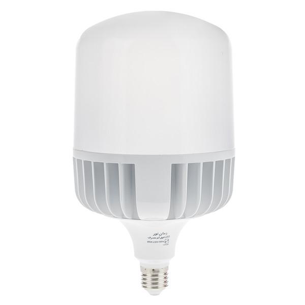 لامپ ال ای دی 95 وات زمان نور مدل Cylindrical پایه E27