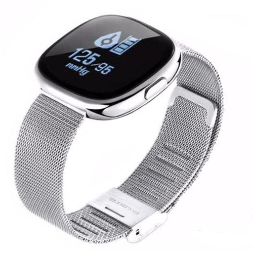 ساعت هوشمند Kaloud مدل P2 Elegant همراه بند سیلیکونی یدکی