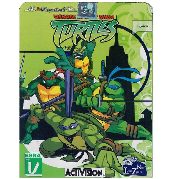 بازی TURTLES مخصوص PS2