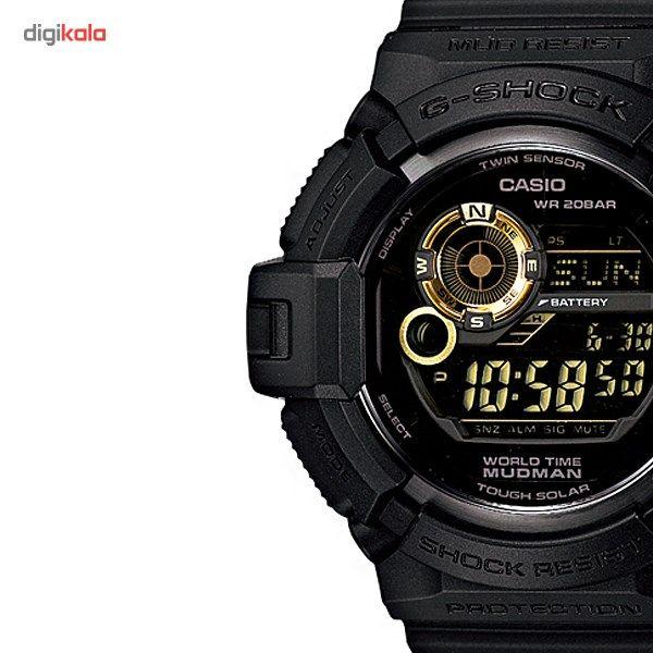 ساعت مچی دیجیتالی کاسیو سری جی شاک مدل G-9300GB-1DR مناسب برای آقایان -  - 1