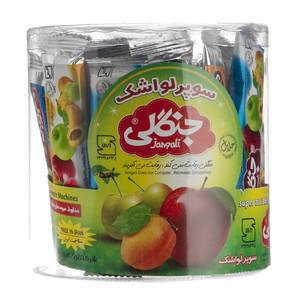 مخلوط میوه های فرآوری شده جنگلی بسته 30 عددی