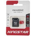 کارت حافظه microSDHC کینگ استار کلاس 10 استاندارد UHS-I U1 سرعت 85MBps همراه با آداپتور SD ظرفیت 32 گیگابایت thumb