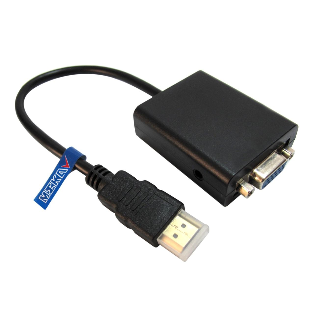 مبدل HDMI به VGA مکا مدل MC4              ( قیمت و خرید)