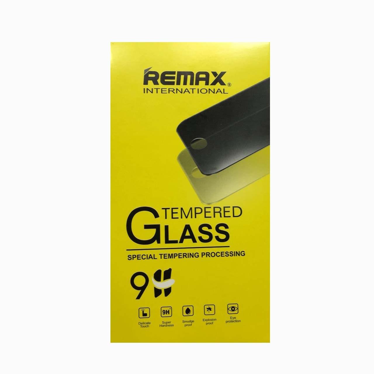 محافظ صفحه نمايش شيشه اي ريمكس مناسب براي گوشي موبايل اپل iPhone 5/5S/SE