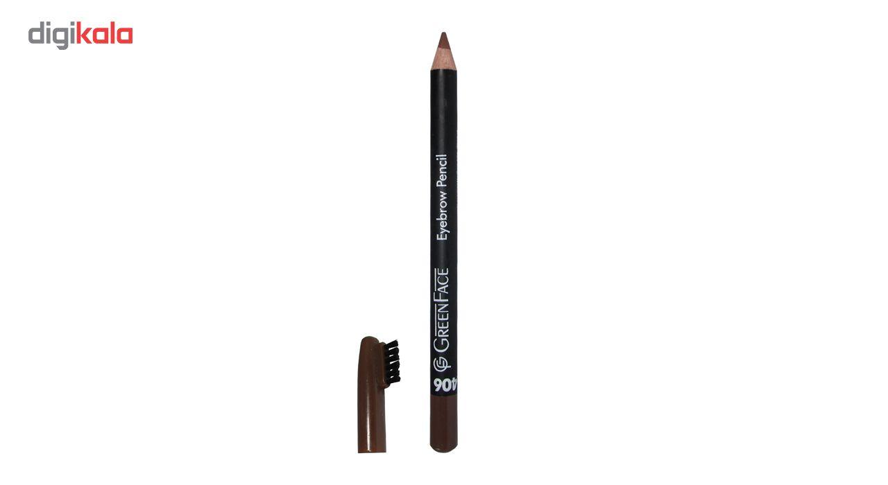 مداد ابرو گرین فیس شماره 406   main 1 1