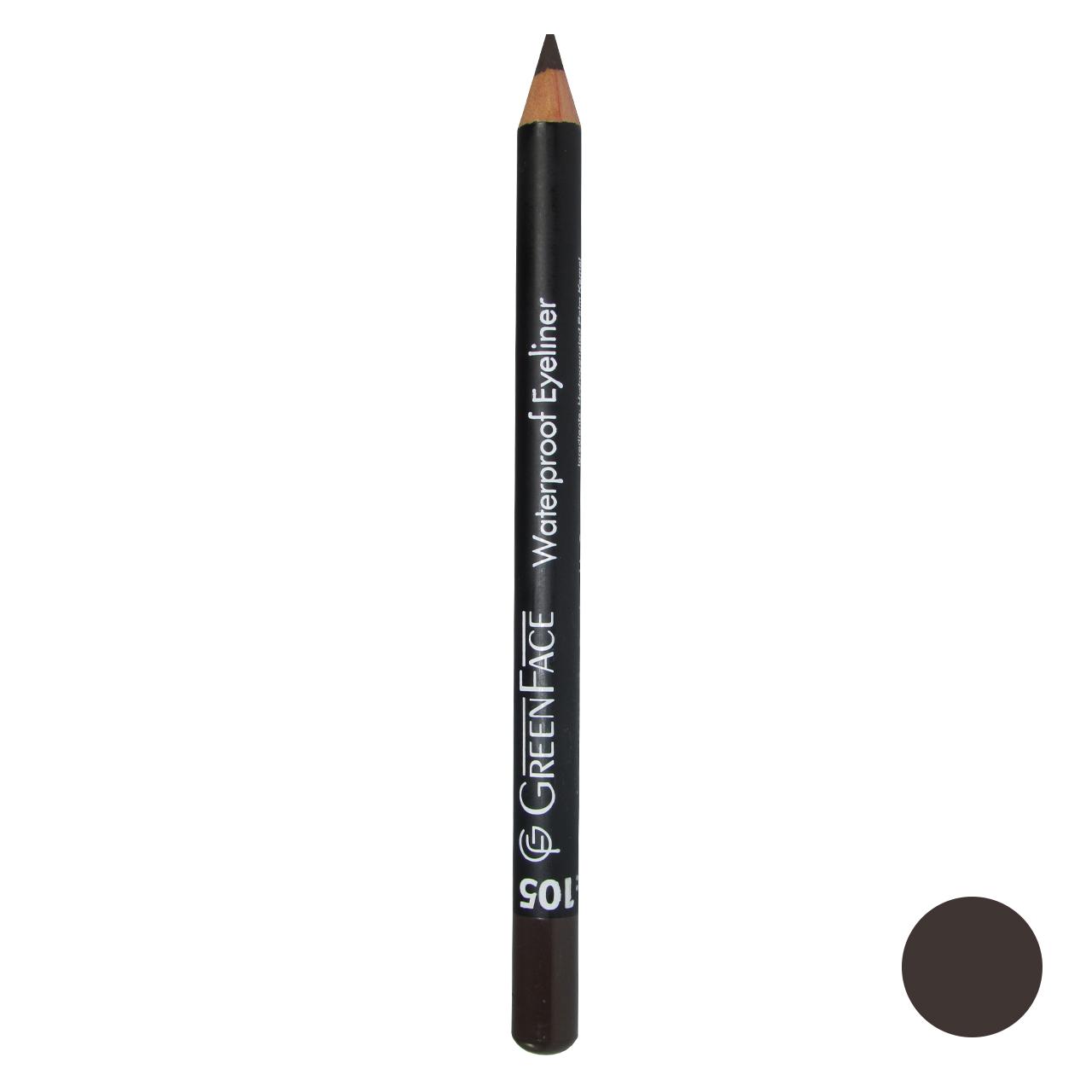 مداد چشم گرین فیس شماره 105