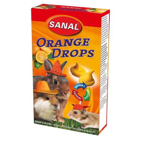 مکمل مولتی ویتامین سانال با طعم پرتقال مخصوص جوندگان 45 گرمی