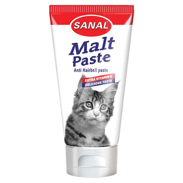 خمیر مالت سانال گربه آنتی هیربال به همراه ویتامین 20 گرمی