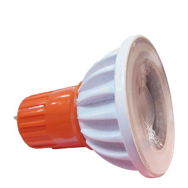 لامپ هالوژن 8 وات رهتاب مدل lenz پایه GU5.3