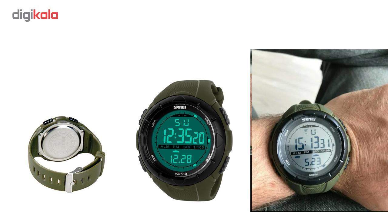 ساعت مچی دیجیتالی مردانه اسکمی مدل 1025             قیمت
