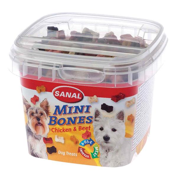 خوراک سانال طرح استخوانی مخصوص سگ های نژاد کوچک وزن 100 گرمی