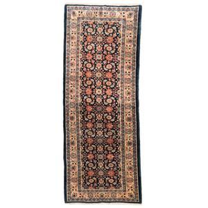 فرش دستبافت قدیمی کناره طول سه متری سی پرشیا کد 102312