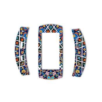 برچسب ماهوت مدل Imam Reza shrine-tile Design مناسب برای ساعت هوشمند Samsung Gear Fit 2 Pro