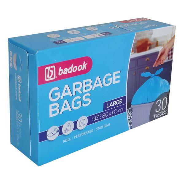 کیسه زباله بادوک مدل L30 بسته 30 عددی
