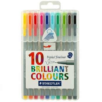 روان نویس 10 رنگ استدلر مدل Triplus Brilliant Colors