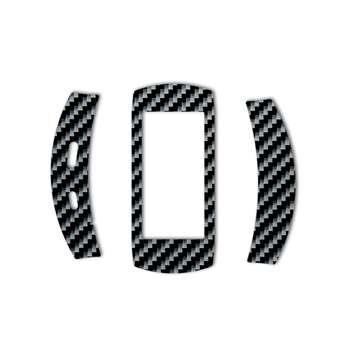 برچسب ماهوت مدل Shine-carbon Special مناسب برای ساعت هوشمند Samsung Gear Fit 2 Pro