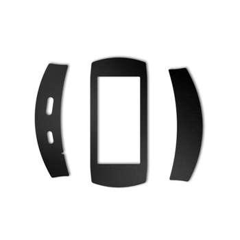 بسته 2 عددی برچسب ماهوت مدل Black-color-shades Special مناسب برای ساعت هوشمند Samsung Gear Fit 2 Pro