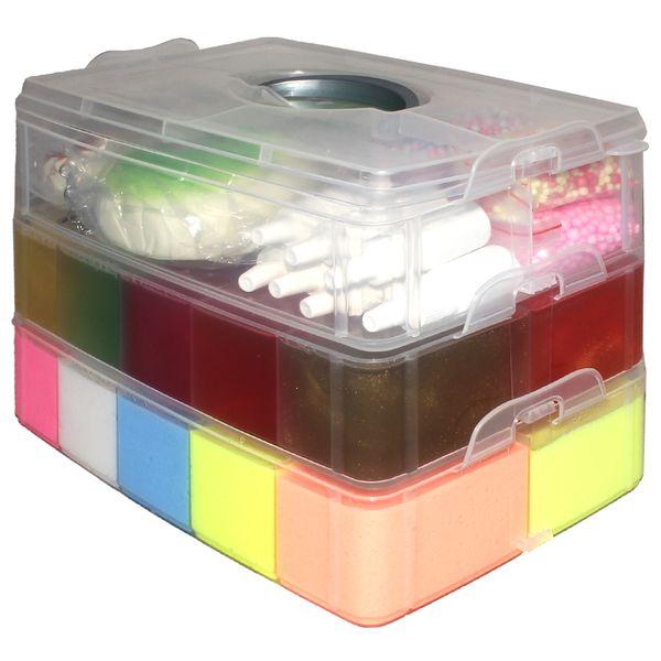 ژل بازی اسلایم مانستر مدل Super Pack