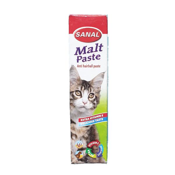 خمیر مالت گربه سانال مدل anti hairball وزن 20 گرمی