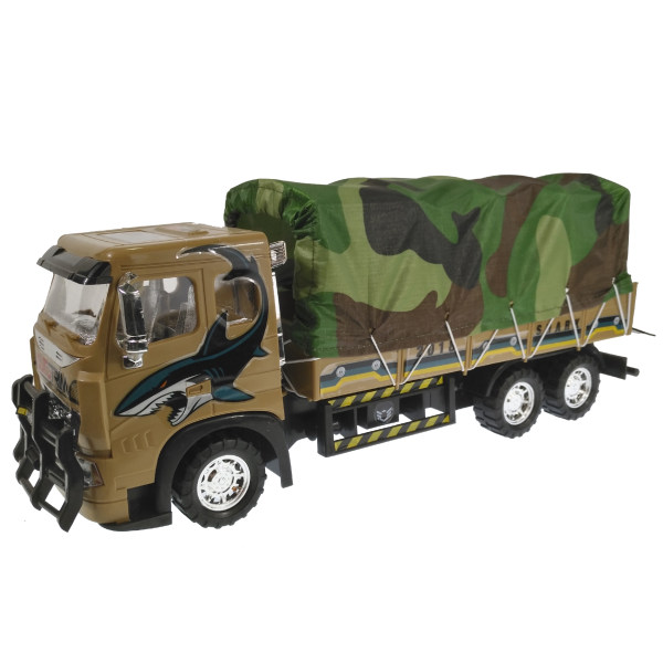ماشین بازی مدل کامیون ارتشی ak229