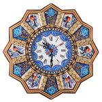 ساعت دیواری خاتم کاری طهران گوهر مدل TG7500