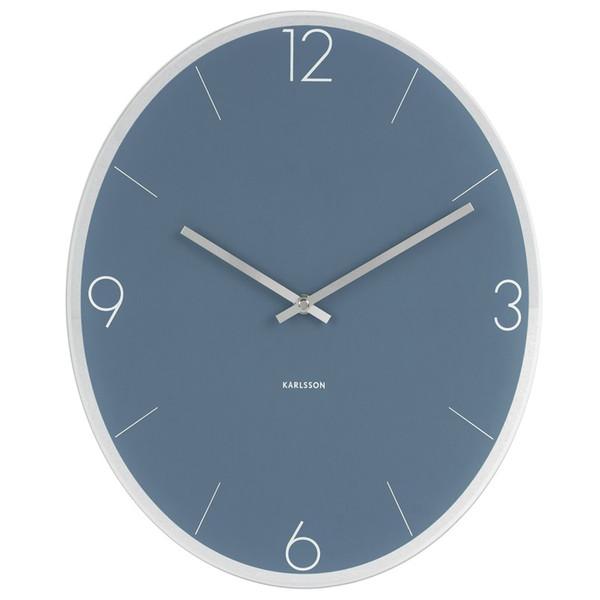 ساعت دیواری کارلسون مدل Elliptical Glass