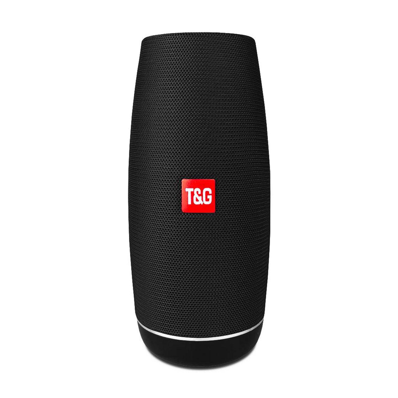بررسی و {خرید با تخفیف}                                     اسپیکر بلوتوثی قابل حمل تی اند جی مدل TG-108                             اصل