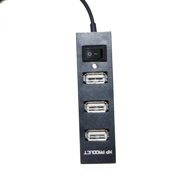 هاب 4 پورت USB 2.0 ایکس پی پروداکت مدل H806