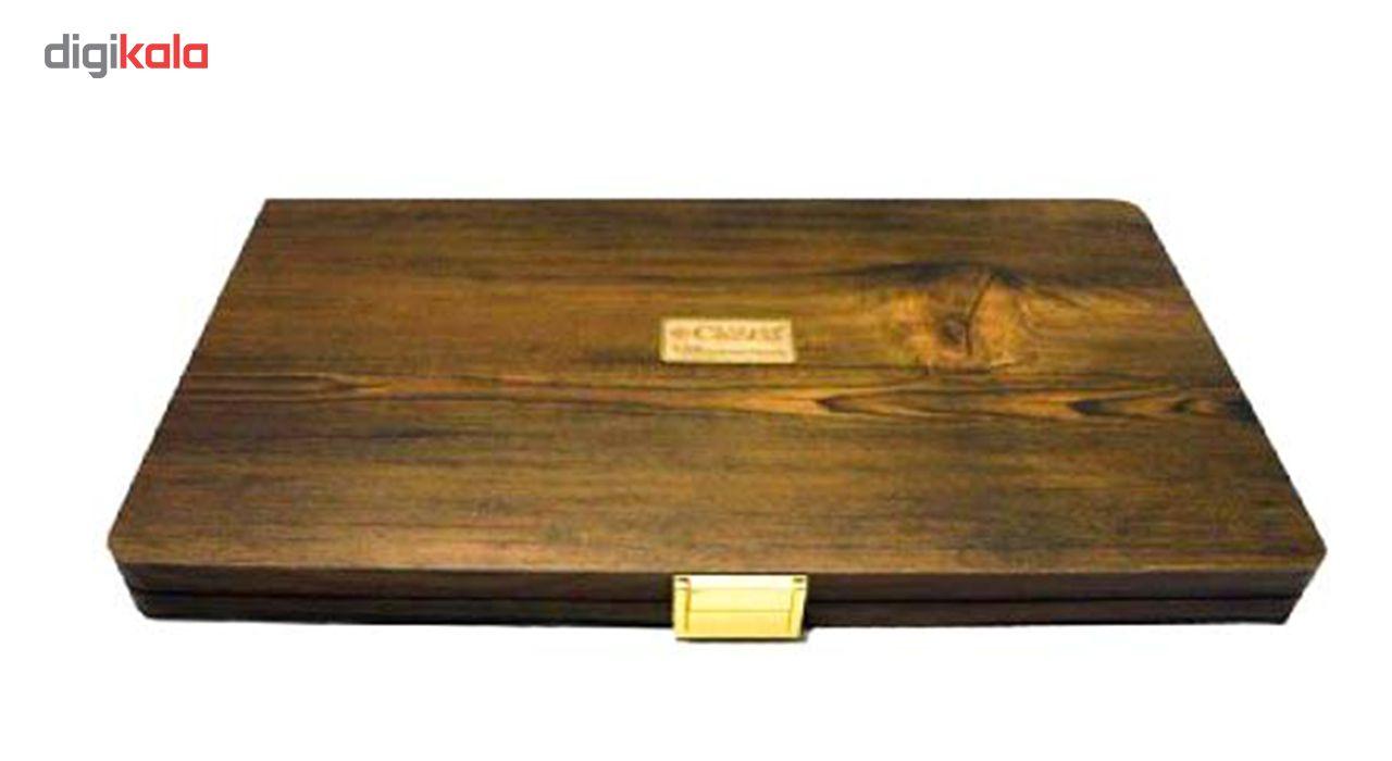 مداد رنگی 100 رنگ جعبه چوبی کنکو مدل ویکتوریا main 1 4