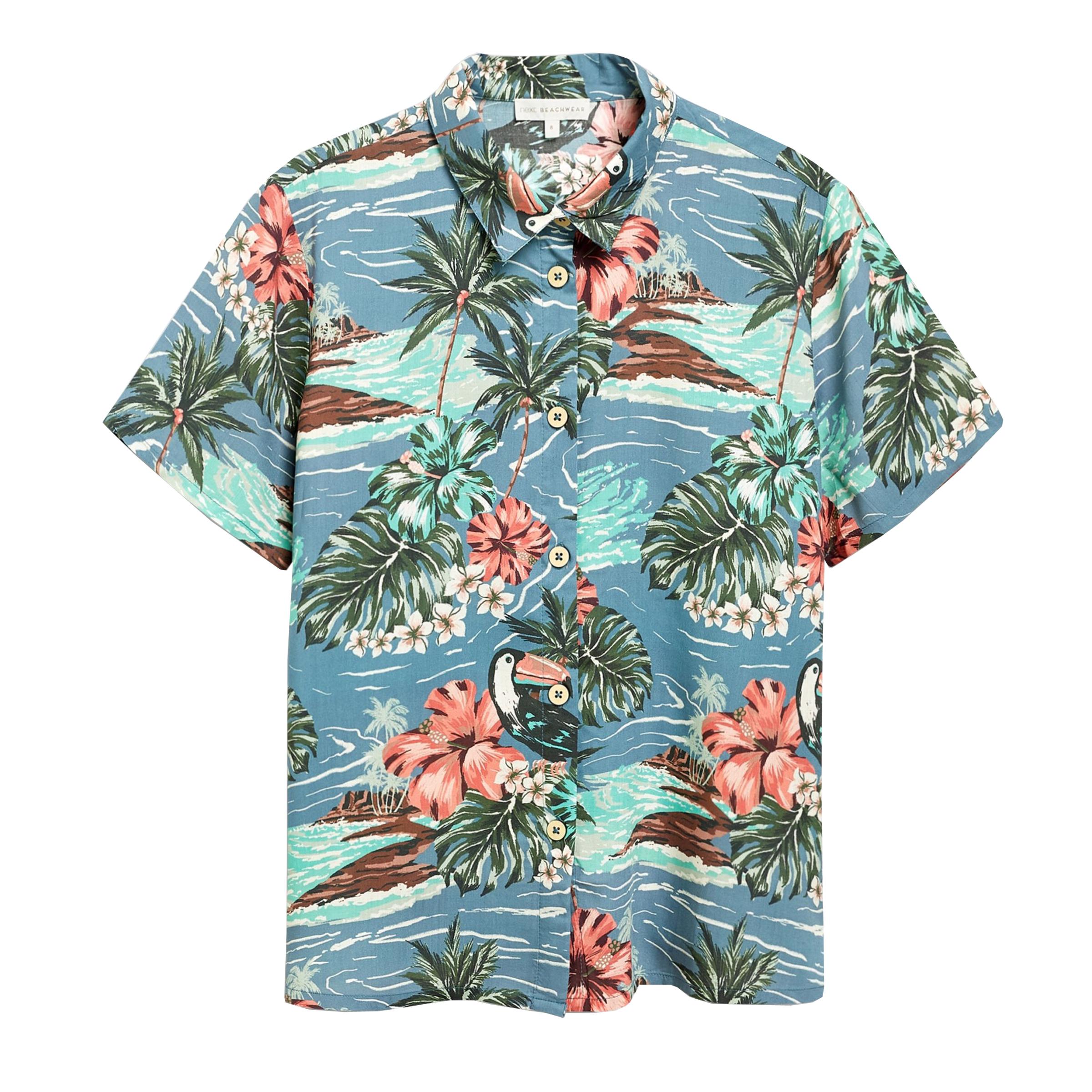 پیراهن پسرانه نکست مدل Hawaiian-HZ-943