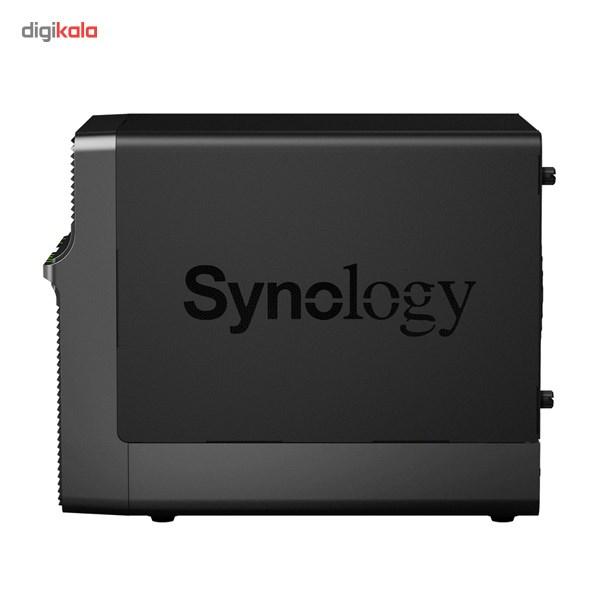 ذخیره ساز تحت شبکه 4Bay سینولوژی مدل دیسک استیشن DS414j