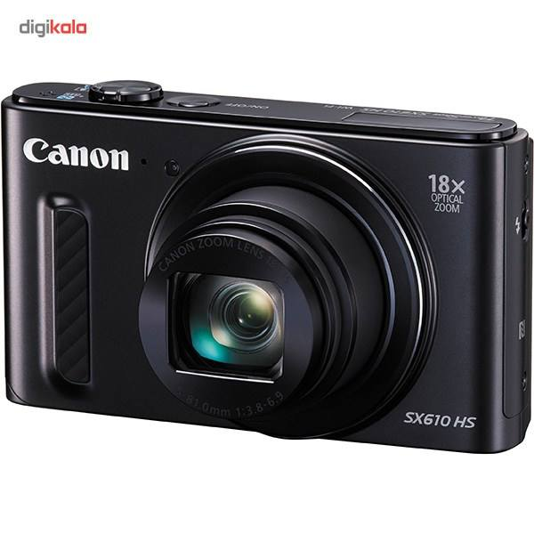 دوربین دیجیتال کانن مدل Powershot SX610 HS  Canon Powershot SX610 HS Digital Camera