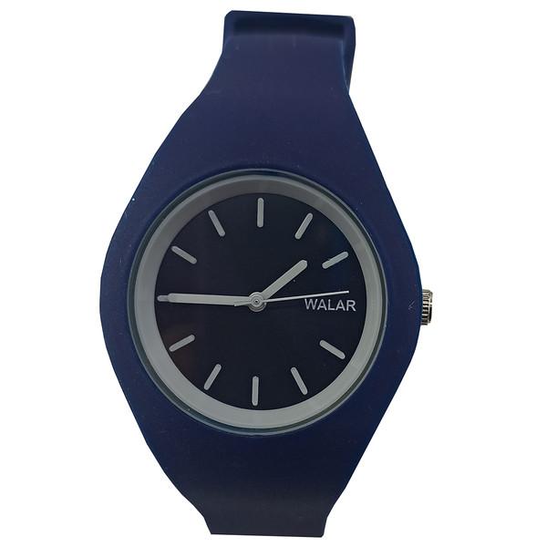 ساعت مچی عقربه ای زنانه والار مدل sp-blue-33